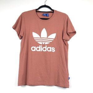 Adidas Dusty Rose / Blush Tee-shirt